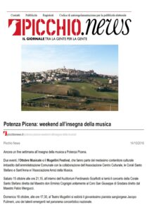 (Picchio.News, 14.10.16)