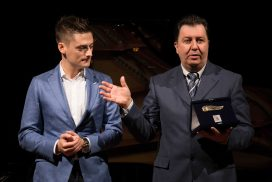L'assessore Ruffini e Mauro Mazziero