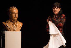 NIba inaugura il busto di Mugellini
