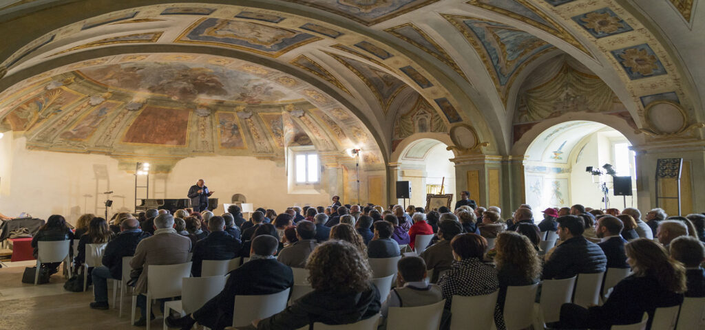 cappella dei contadini, potenza picena, Mugellini festival,