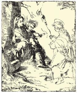 madonna con bambino, mugellini festival,
